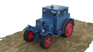 lanz eilbulldog 3D model