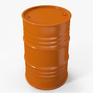 barrel contains metallic 3D