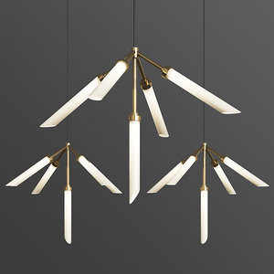 spur pendant lights loftconcept 3D model