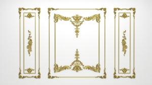 decor frame 3D model
