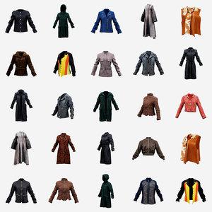 18 jackets coats 3D