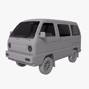 suzuki carry microvan 3D