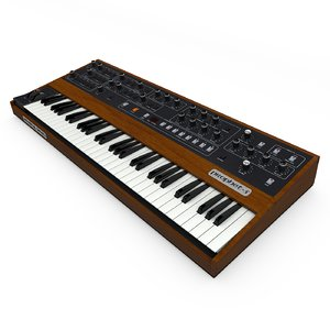 sequential circuits prophet 5 3D model