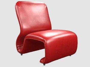 etcetera chair jan ekselius 3D model