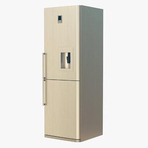 3D model generic fridge