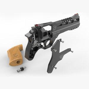 chiappa rhino 60ds revolver 3D model