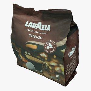 coffee package 3D