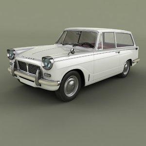 1964 triumph herald 1200 model