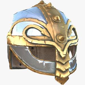 3D old helmet