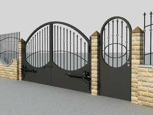 3D gate closer