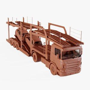 car carrier truck model