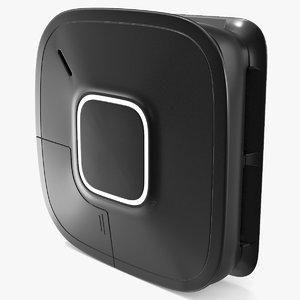 3D model smart alert smoke alarm