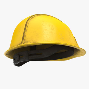 3D hard hat - model
