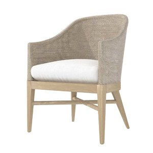 3D marisol seagrass slope armchair