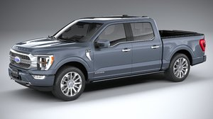 3D model f-150 limited 2021