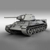 T-34-76 - Model 1942 - Factory 183 - Soviet Medium Tank
