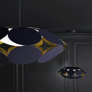 suspension lamp 3D