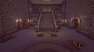 3D dungeon unity props