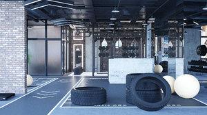 3D gym industrial