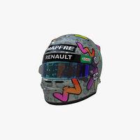 Ricciardo helmet 2020