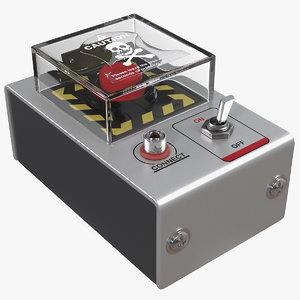 3D handheld detonator model