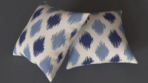 3D adras pillow 5 model
