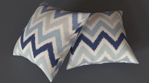 3D adras pillow model