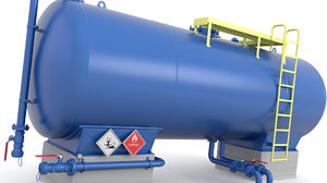 3D tank pressure model