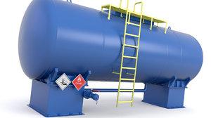 tank pressure 3D