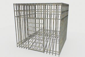 basement jail storage 2 model