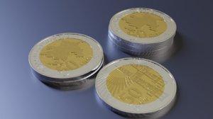 3D 50 coin azerbaijan