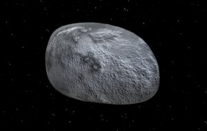 3D asteroid meteorite meteor crater