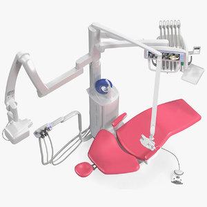 3D planmeca sovereign classic dental model