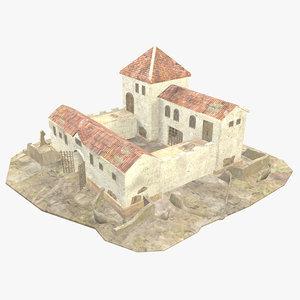 3D - roman building