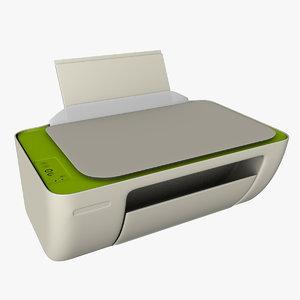 office printer deskjet 3D model