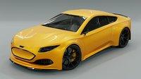 Generic 2 door electric Sports Car