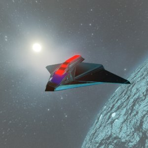 planet space 3D model
