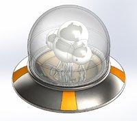 Metal Slug UFO Alien -Ship