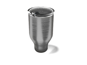3D thermal cup model