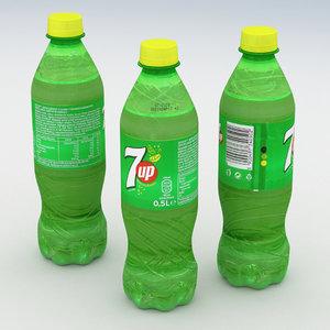 beverage bottle 3D model