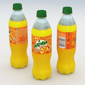 beverage bottle model