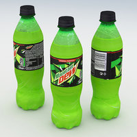 Beverage Bottle Mountain Dew 500ml 2020