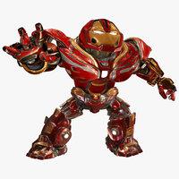 Cartoon Hulkbuster of Avengers Infinity War