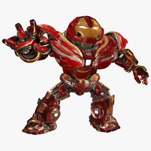 ironman hulkbuster infinity war 3D model