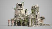 Ancient ruins of Mayan civilization