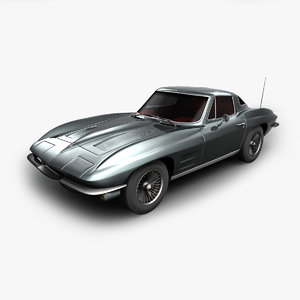 3D chevrolet corvette stingray