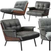 Daiki armchairs by Minotti