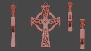 old norse amulet print 3D model