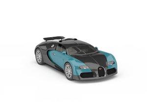 3D model super car