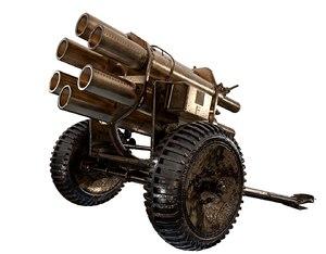 war cannon 3D
